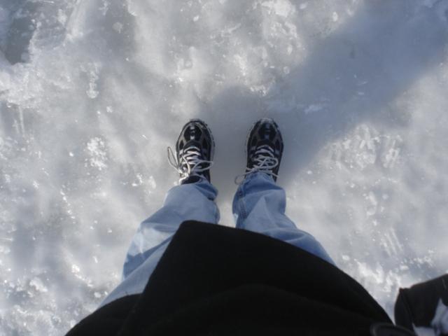 Feet on Walden