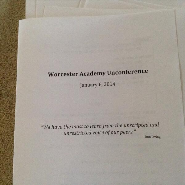 Unconference Brochure