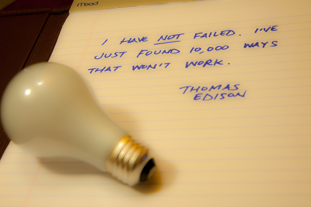 A light bulb but no (good) ideas... (17/365)