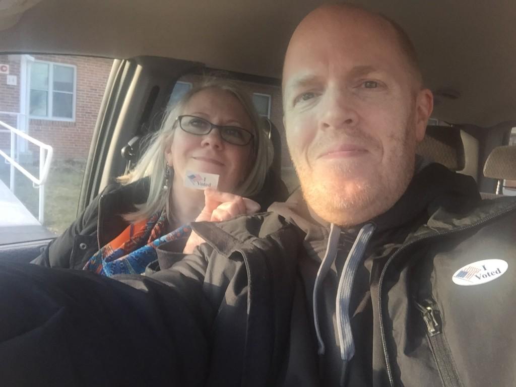 Steve and Dana Voted