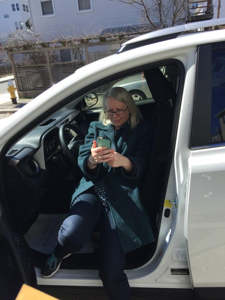 New Car Selfie