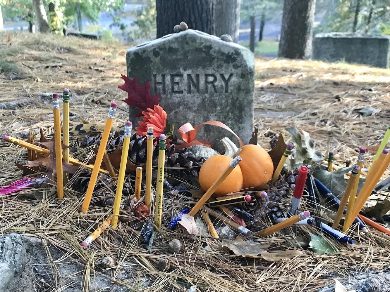 Thoreau's Grave Marker