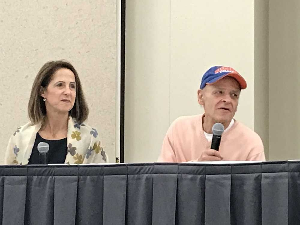 Author Tim O'Brien and documentarian Lynn Novick