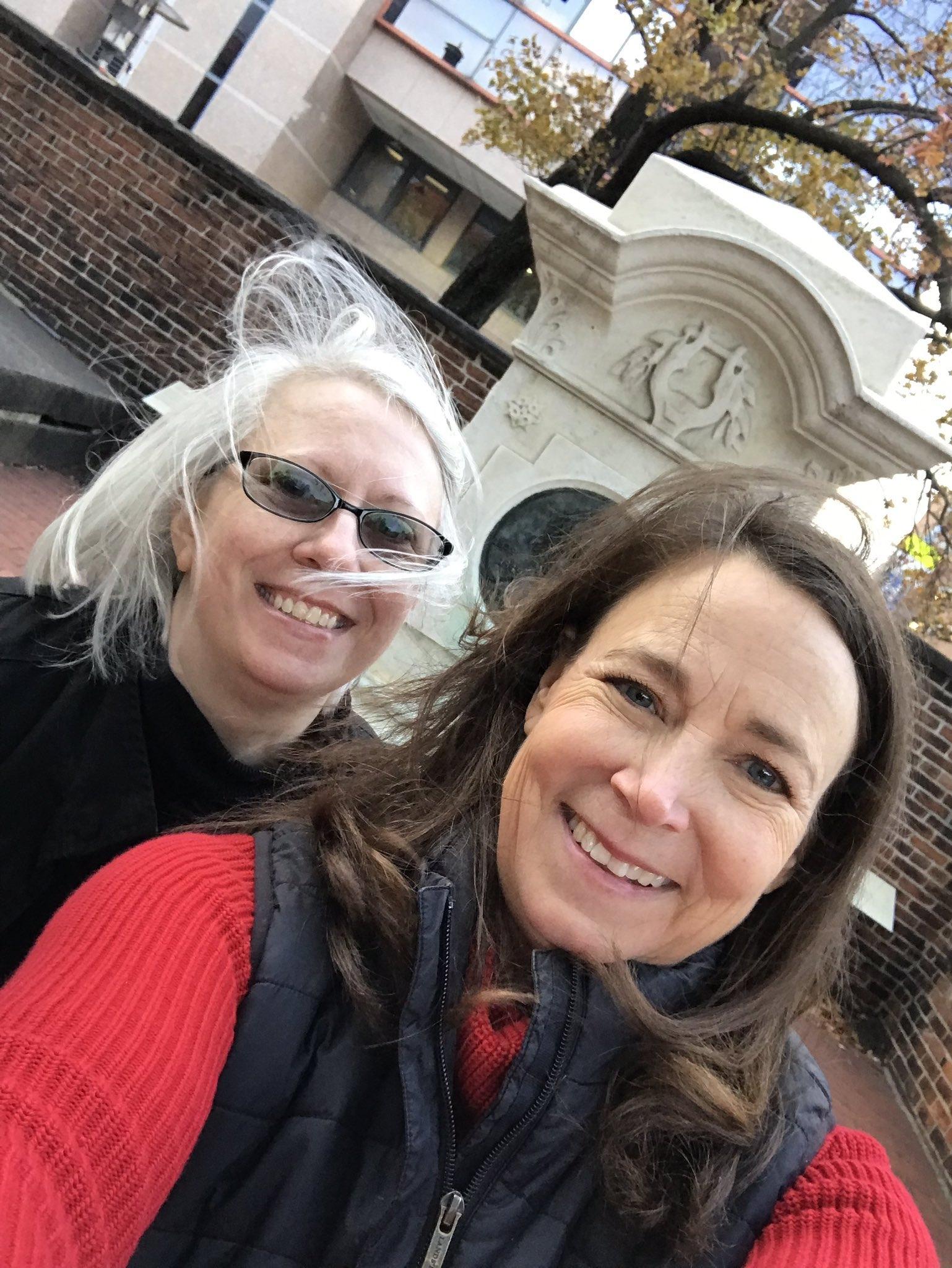 Susan and Dana